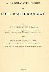 Publication cover: A Laboratory Guide in Soil Bacteria.